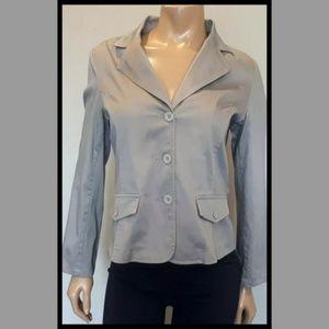 💜 Tommy Hilfiger Pinstripe Blazer Suit Jacket
